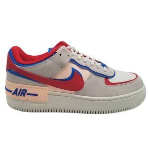 Nike Air Force 1 Shadow Sail Royal Red Sneakers